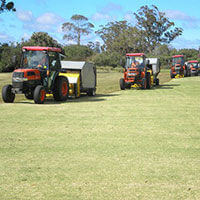 Scarifying and Sweeping