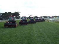 Geelong Race Track - Verti Drain Race Track 12 mil tynes, 7 inch, 8-9 degree kick