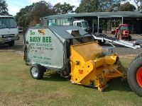 The Busy Bee Turf Renovator
