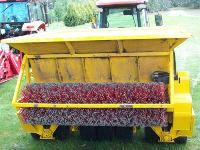 Ground driven top dresser